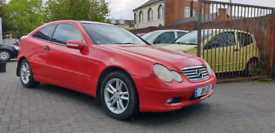 2002 MERCEDES BENZ C180 2.0 PETROL 1 YEAR MOT GOOD RUNNER CHEAP CAR for sale  Small Heath, West Midlands