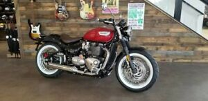 2018 Triumph Bonneville Speedmaster Cranberry Red