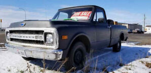 1969 Chevrolet C10 Longbox with all original drivetrain