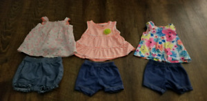 Spring/summer lot of baby girl 3 and 3-6 month