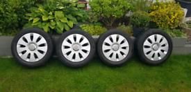 """Audi 16"""" alloy wheels"""