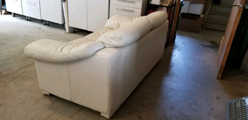 Leather Like Beige Love Seat Sofa Couches Amp Futons