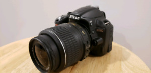 DSLR Nikon D3100 with 50mm Lens