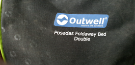 **Reduced** Outwell Posada Double Camping Bed