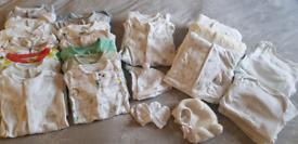 39 ITEMS Unisex Baby Boy Girl Babygrow Sleepsuit Bodysuit Bundle 0-3m