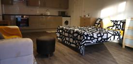 Studio/1bedroom ground floor Flat Acton
