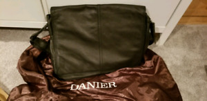 Never used danier leather laptop bag