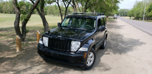 2010 jeep liberty / 8 new tires