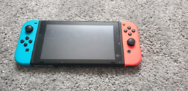 Nintendo Switch 3 with 3 games and accessories