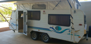 Caravan 2001 Pop Top Jayco Freedom 18ft. Best but