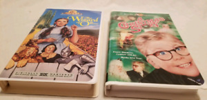 Wizard of Oz and Christmas Store VHS