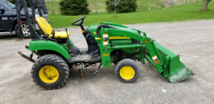 2006 John Deere 2305 Diesel tractor with attachments