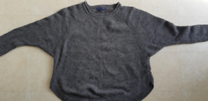 Saks Fifth Avenue Grey Sweater XL
