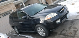 2002 ACURA MDX 222KM SUNROOF BLK ON BLK LEATHER