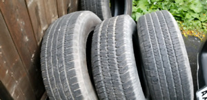 Set of tires for sale P265/70/R16