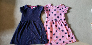 Beautiful sweater dresses from Gymboree and H&M
