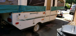 10' Camper Pop-Up Trailer Rental