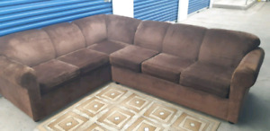 Sectional(Sofa bed )/free delivery