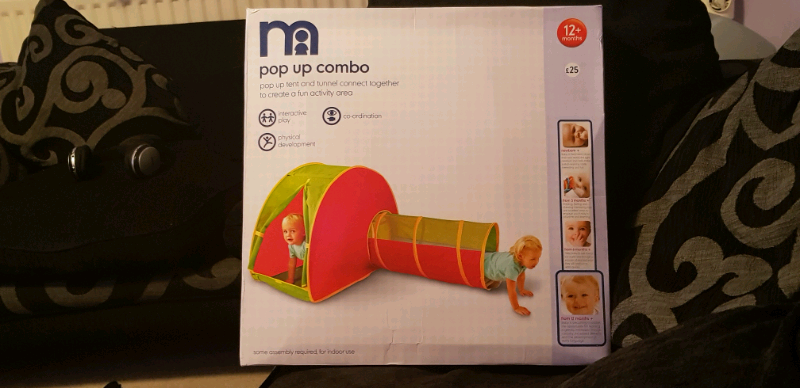 pretty nice ae32f ee528 Mothercare Pop Up Tent and Tunnel Combo 12+ Months New in Box   in Meadows,  Nottinghamshire   Gumtree