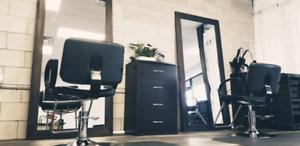Chair rental for hair stylist