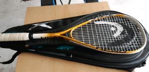 Head PAT Sonic squash racket