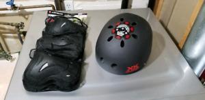 New: Helmet with Speakers & Safety Gear