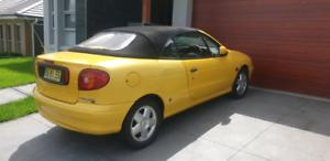 2002 renult Megane convertible