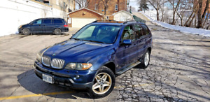 2004 BMW X5 E-TESTED 4X4 MINT CONDITION RUNS LIKE A NEW CAR