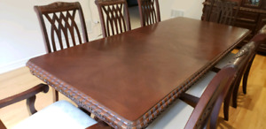 Dining table with cabinet 1000