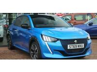 2020 Peugeot 208 GT 50kWh 136 Auto 5dr Hatchback Electric Automatic