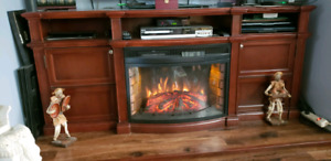 Fireplace electric
