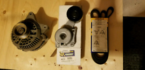 Ford v8 Alternator, tension pulley and belt reduced price