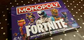 Brand new & un-opened Monopoly - Fortnite edition.