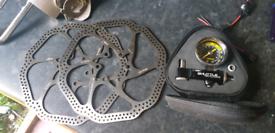 Topeak shuttle gauge n new disks