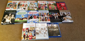 Many TV and Movie titles for sale on DVD and Blu-ray