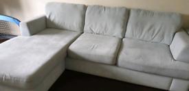 Longer 3 seater sofa+1 seater