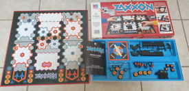 Vintage ZAXXON family board game