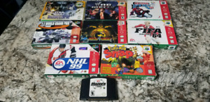 Nintendo 64 games all working 100% x9 + more gamecube games