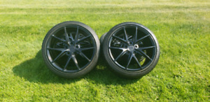 Niche rims and summer tires