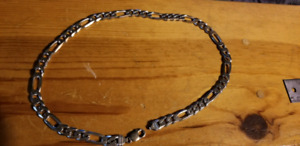 Chunky .925 Solid Sterling silver chain 24 inch.