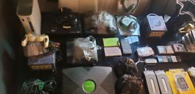 Sega Nintendo xbox PlayStation console bundle accessories