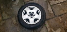 Mazda bongo alloy wheel - single