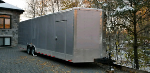 2016 Cynergy 28 FT V-Nose extra height trailer