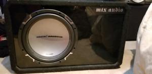 Subwoofer 12p + ampli MTX AUDIO nego