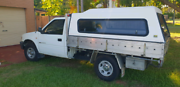 2002 Holden Rodeo Ute with canopy Cleveland Redland Area Preview