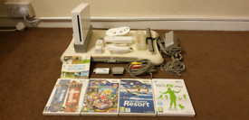 Nintendo Wii & Wii Fit bundle (boxed)