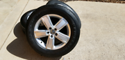 Bridgestone Dueller 255/60/18 Tyre's with 5/120 Stud Pattern Rims Kambah Tuggeranong Preview
