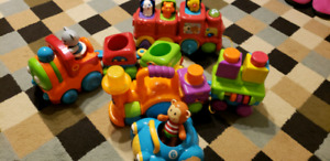 Toy trains collection for toddlers