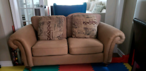 Free DecoRest sofa and loveseat