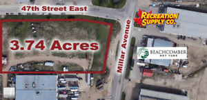 3.74 Acres Secure Compound Available for Lease, 2401 Millar Ave